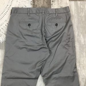 Bonobos Pants - Bonobos Friday Gray Slim Fit Pants BK04☮️
